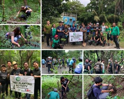 Tree planting activity at LPPCHEA