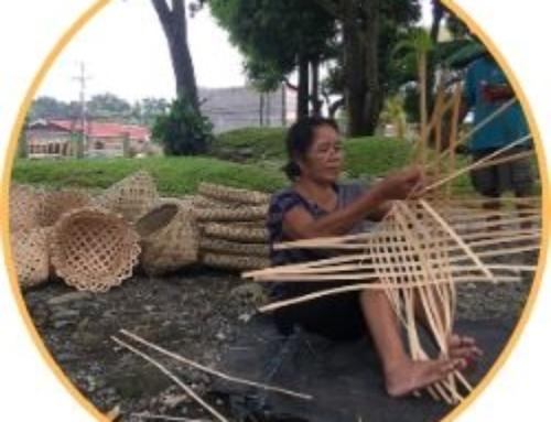 Traditional basketweaving of General Luna, Antique
