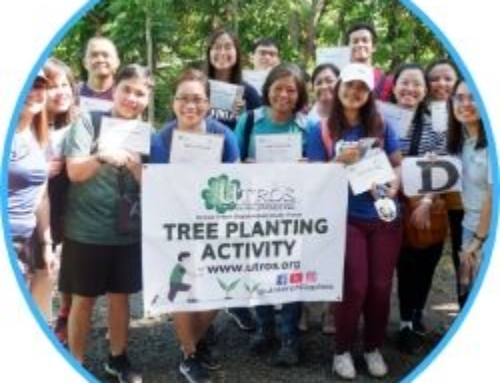 Tree planting at La Mesa Dam Reservoir